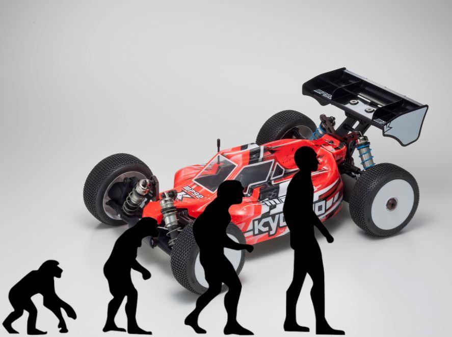 Die Evolution…. Kyosho INFERNO MP9eEVO